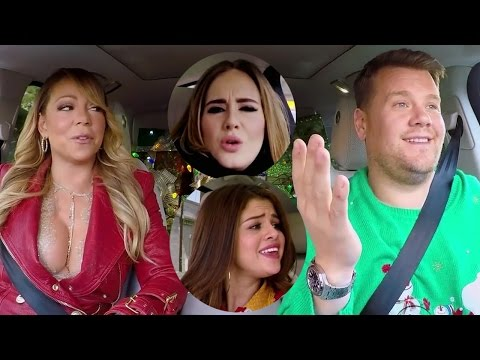 Mariah Carey, Selena Gomez, Adele & MORE Join James Corden For EPIC Christmas Carpool Karaoke