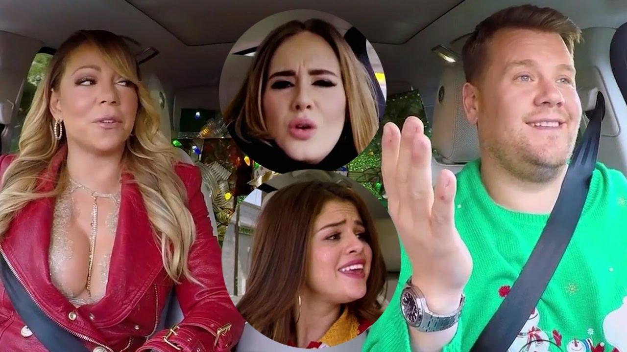 Mariah Carey, Selena Gomez, Adele & MORE Join James Corden For ...