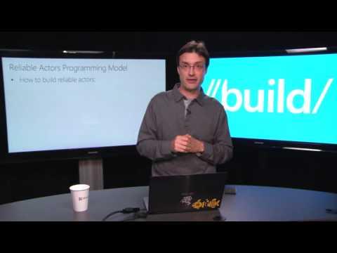 Build 2015 Deep Dive into Microsoft Azure Service Fabric Reliable Actors