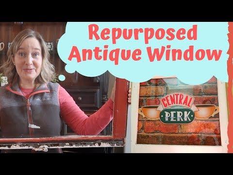 Central Perk DIY Window | Coffee Bar Decor