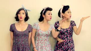 바버렛츠 The Barberettes - Barbara Ann(Barberettes) (Cover of The Beach Boys)