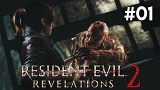 Resident Evil Revelations 2 PS4 - Primeiro Contato! Claire Redfield de Volta Ao horror #RERV2 #ZUMBI