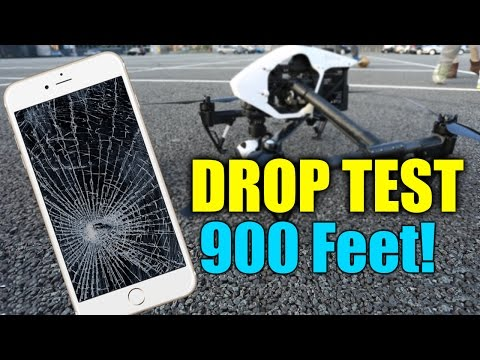 iPhone 6 Drop Test - Extreme 900 Feet Drop Test!