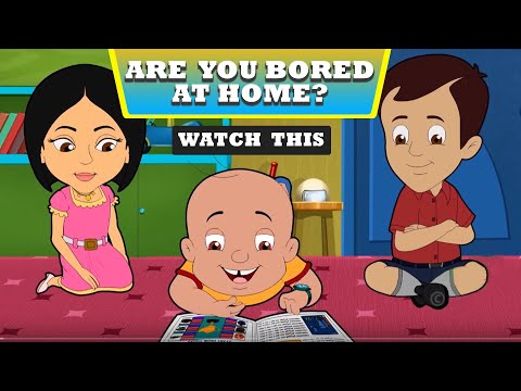 Mighty Raju - Bored At Home   Fun Video For Kids