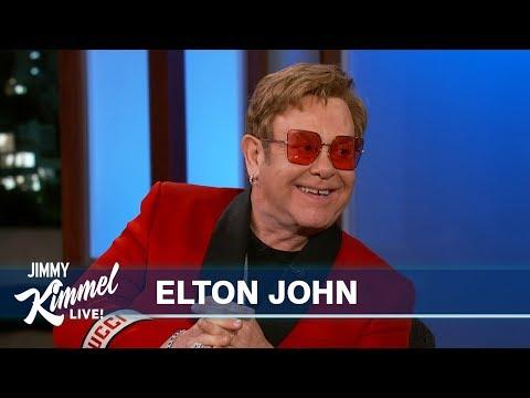 Elton John Let Stevie Wonder Drive His Snowmobile
