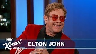 Elton John Let Stevie Wonder Drive His Snowmobile