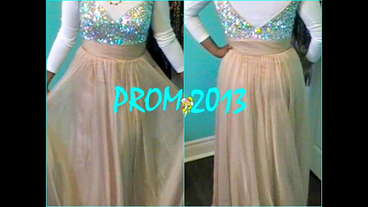 Tips on Finding THE Prom Dress + My Dress! - YouTube