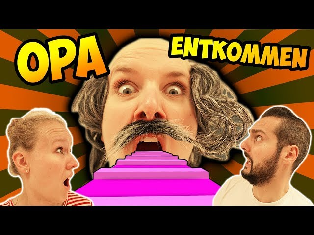 OPA ENTKOMMEN - Kathi & Kaan in VERRÜCKTER OPA OBBY gefangen - Roblox Escape Grandpa Obby Parodie