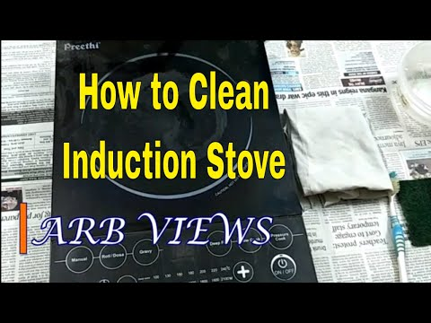 How to Clean a / Preethi Induction Stove / Cooktop / Cleaning Tips/ இண்டக்ஷன் Repair in Tamil