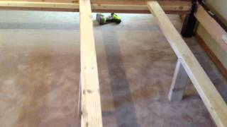 How To Build A Four Post Bed   Part 1