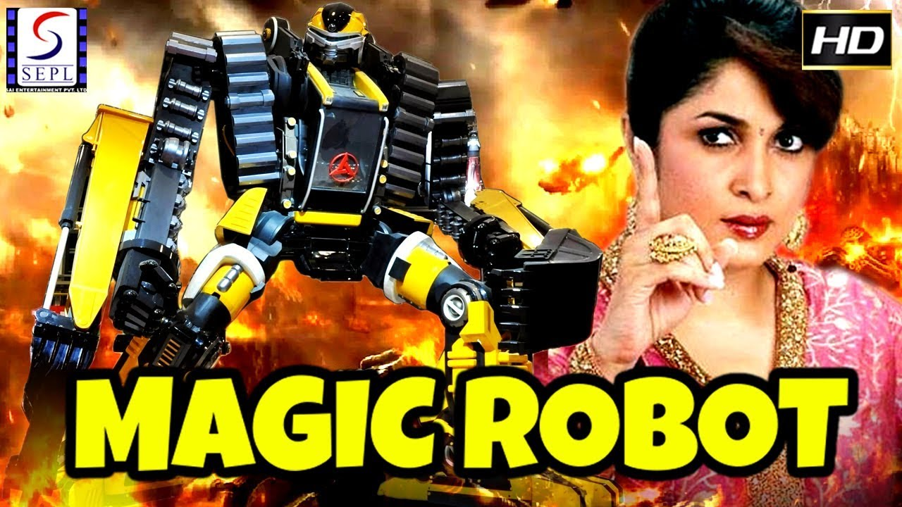 Magic Robot - South Indian Super Dubbed Action Film - Latest HD Movie 2019