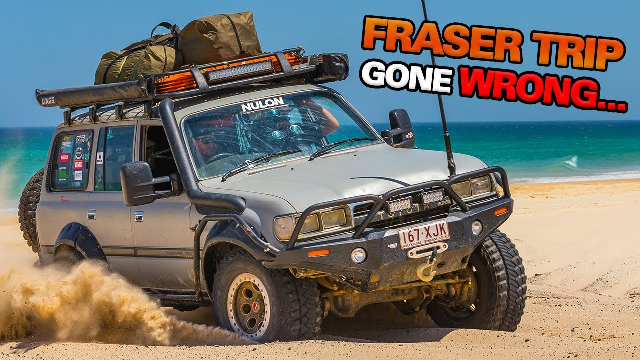 Download You haven't seen Fraser Island like this before...