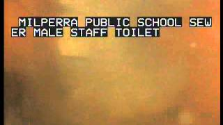 Milperra public school male staff toilet sewer 3 9 14 001