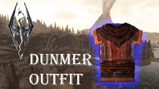 The Elder Scrolls V Skyrim Dragonborn  | How To Get The Dunmer Outfit