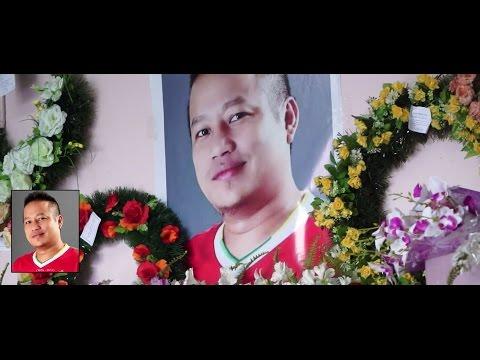 """Floral Tributes to Michael M Sailo """"Ngaihlai kan bang lo che"""""""