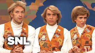 Weekend Update: Garth and Kat Sing Thanksgiving Songs (Chris Martin) - SNL
