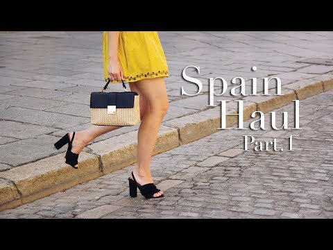 Spain Haul Pt.1 Clothes -  Primark, Pull and Bear, Stradivarius | Carolina Pinglo