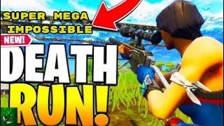 Super Mega Impossible *DEATH RUN*! (Fortnite Creative Mode)