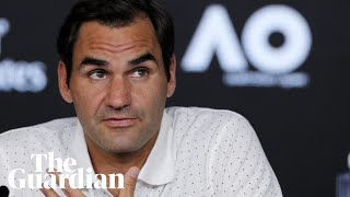 Roger Federer plays down air quality concerns at Australian Open