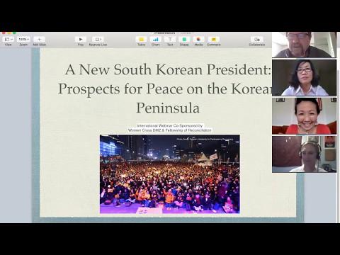 Webinar: A New South Korean President: Prospects for Peace on the Korean Peninsula Webinar