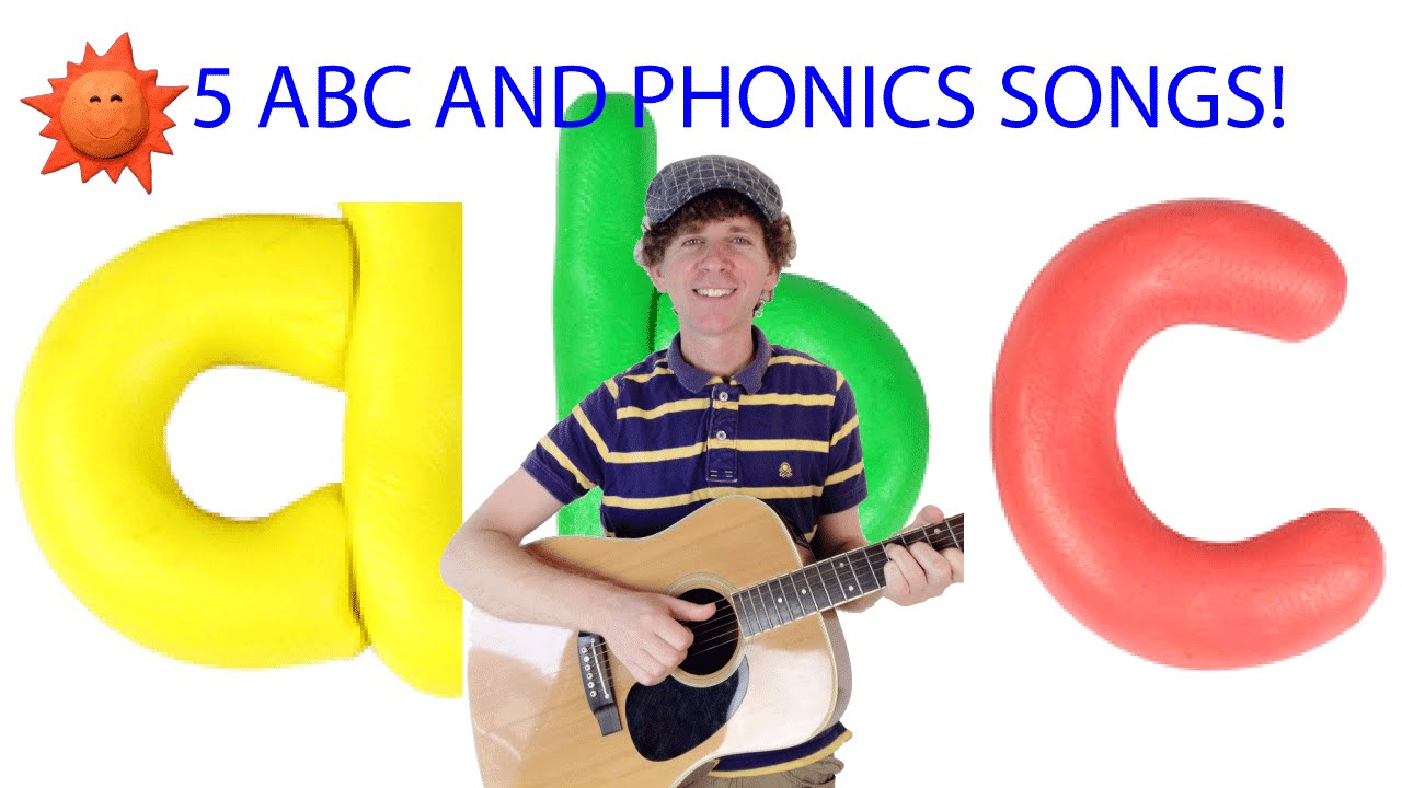 ABC Rock Song Plus 4 More ABC and Phonics Songs | Children, Preschool, Kindergarten