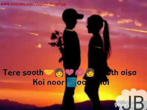 Tere saath saath aisa noor aaya hai whatsapp status