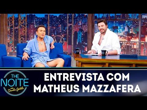 Entrevista com Matheus Mazzafera  The Noite 250319