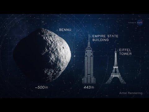 Planet X News - OSIRIS REx Arrives at Asteroid Bennu on Dec. 3rd, 2018