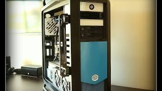 cooler Master Cosmos II, Dual Xeon, Asus Z9PE-D8, 64Gb Ram, 80TB Storage  - Monster System
