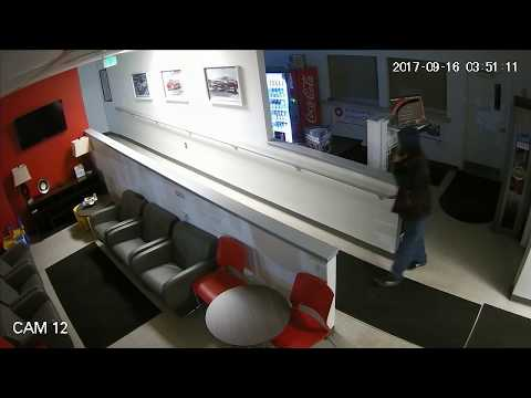 Lithia Kia dealership breakin surveillance video  KTVA 11
