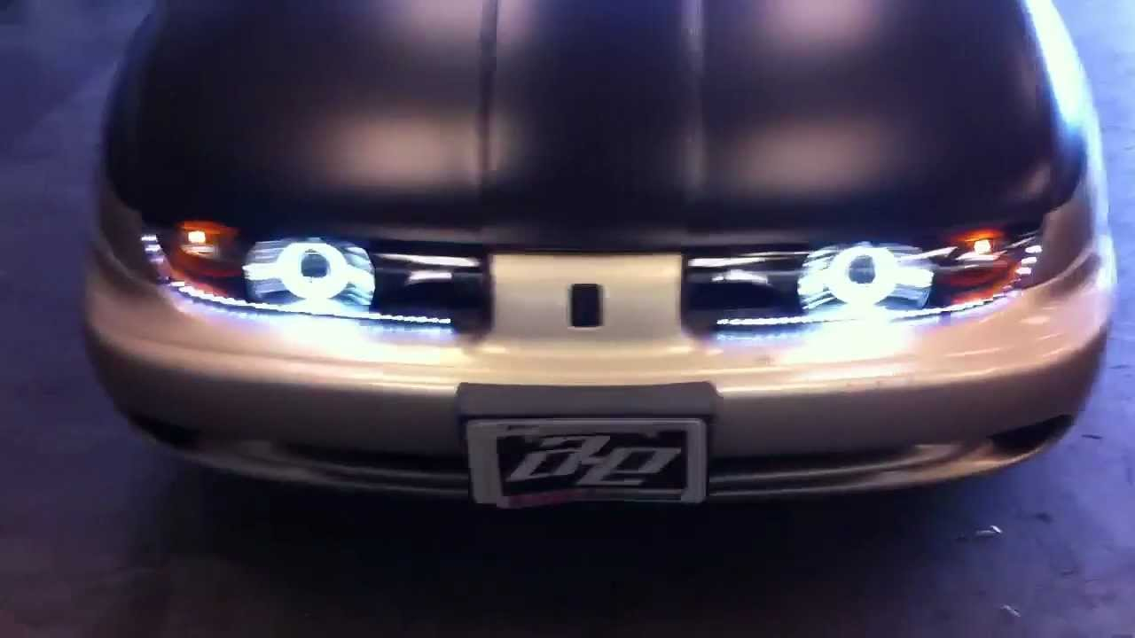 Saturn Projector Halo Installed xenon HID LED Daytime ...