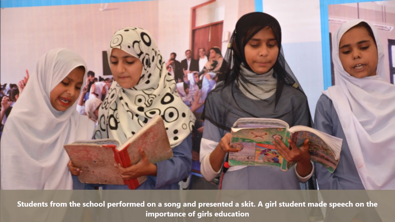 Abad Lakha School Opening Ceremony