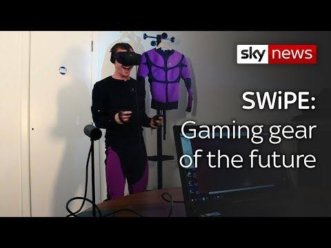 Swipe | The electric Teslasuit & McLaren's...