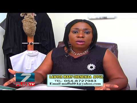 LAWYER MARY OHENEWAA AFFUL'S MARRIAGE AND DIVORCE TALK