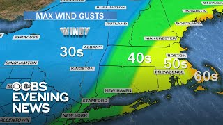 Millions of Americans in the path of nor'easter