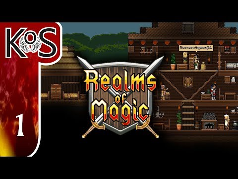 Realms Of Magic Ep 1: WOLVES ARE DANGEROUS - First Look - (Early Access) Let's Play, Gameplay
