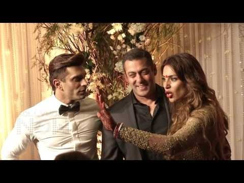 Salman Khan Interview on Bipasha Basu & Karan Singh Grover's WEDDING RECEPTION