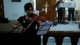 Gambar cover Anugrah Lal playing Violin for bridal March