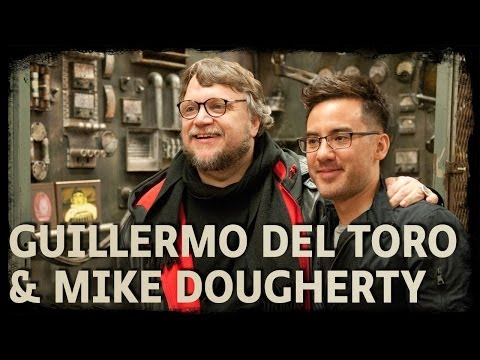 Guillermo del Toro and Mike Dougherty visit ScareHouse