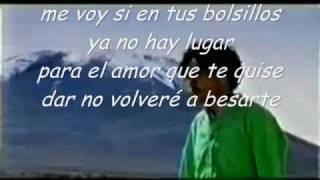 Karaoke - Me voy - Andres Cepeda