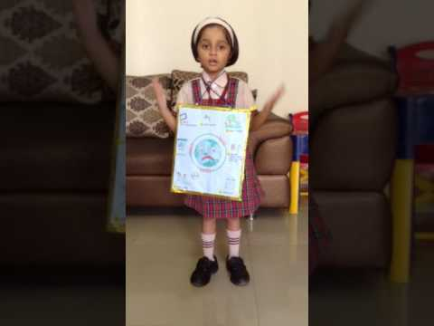 Must watch..Sharayu's Flash cards show and tell activity..Topic the Earth