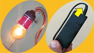 Cara Membuat lampu belajar sederhana