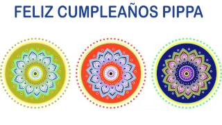 Pippa   Indian Designs - Happy Birthday