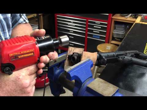 Keltec KSG barrel nut removal and compensator install by #boom2tactical