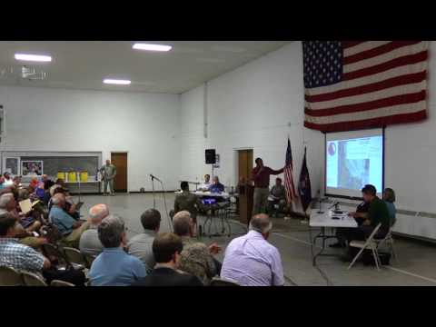 Camp Grayling public information meeting to discuss PFC detection in monitoring wells