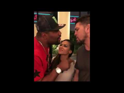Quinton Rampage Jackson Tries to Steal Nick Diaz's Girl