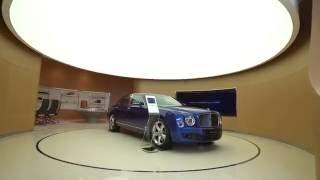 Bentley global flagship showroom in Dubai