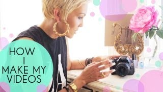Repeat youtube video How I Light, Film & Make My Videos | Kandee Johnson