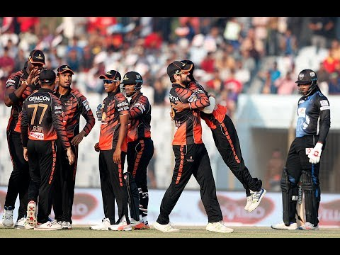A Great Winning Moments of Khulna Titans against Rangpur Riders