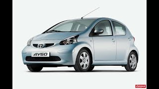 Toyota Aygo Revised for 2009 Videos